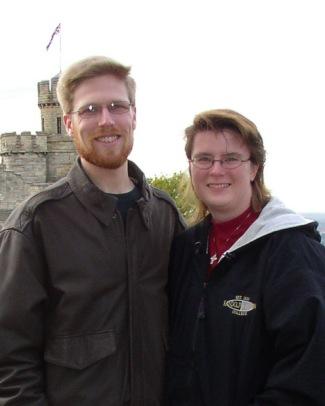 Robert and Rachel in Lincoln